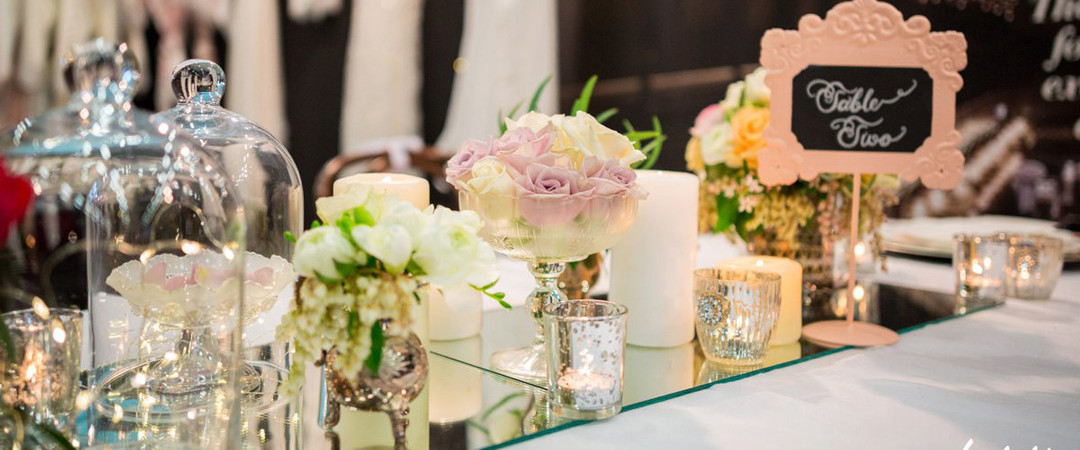 Wedding table setting - The Tannery Christchurch
