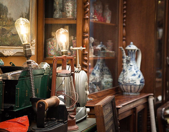 Portobello Antiques - shopping at The Tannery Christchurch
