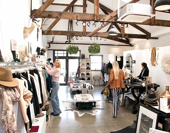 Raw Nova - shopping at The Tannery Christchurch