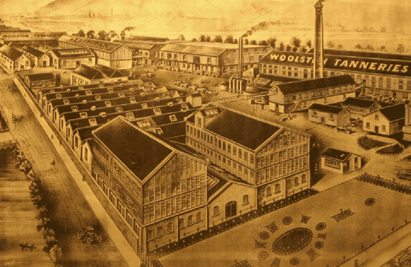 The historic tannery building