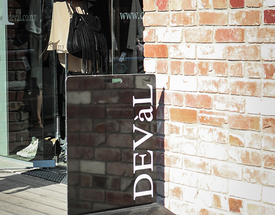 Deval - shopping at The Tannery Christchurch