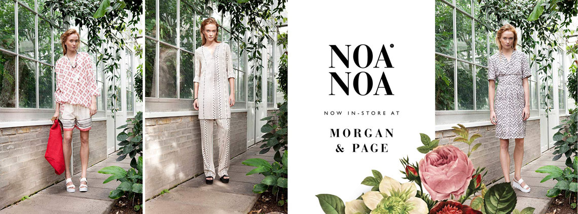 Morgan & Page - Fashion and clothing at The Tannery in Christchurch