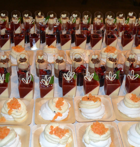 Wedding Dessert at The Metropolitan Lounge - The Tannery Wedding Venues