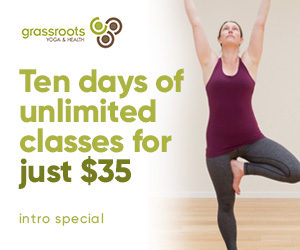 Grassroots Yoga Introductory Special