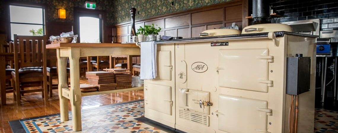 The AGA Kitchen Function Venue at The Tannery