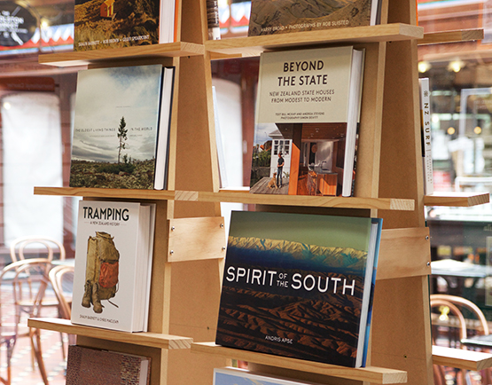 Smiths Bookstore - shopping at The Tannery Christchurch