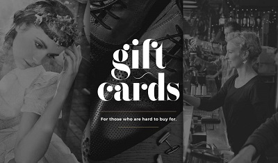 Purchase gift cards at The Tannery