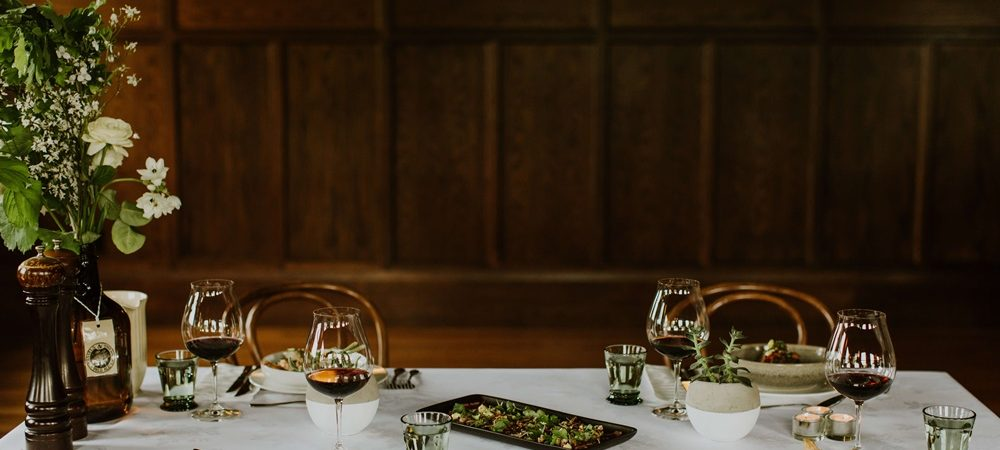 Corporate dinners and Christmas party functions at The Tannery