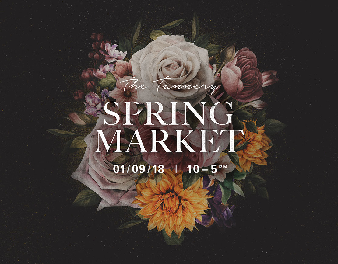 Spring Market at The Tannery