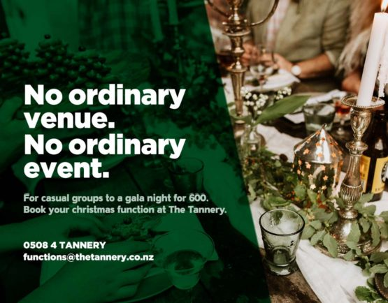 Book your Christmas Function at The Tannery