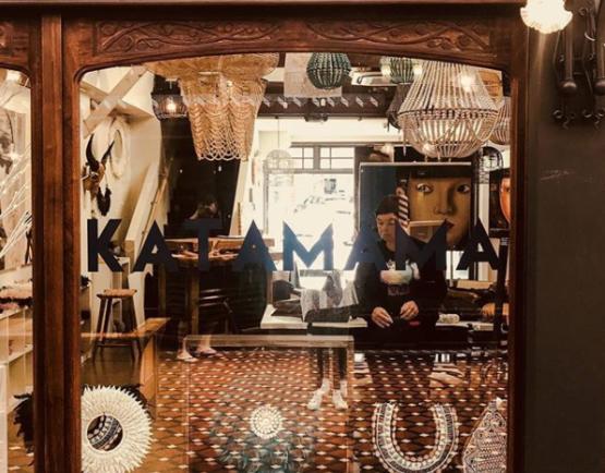Katamama store window - The Tannery