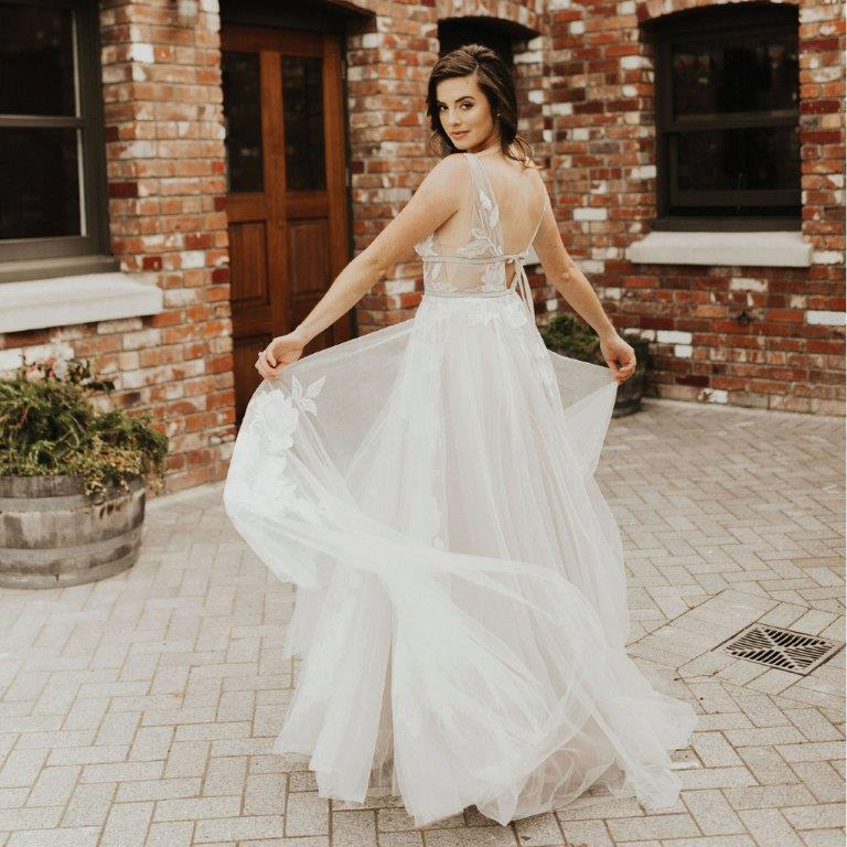 Bride - Christchurch weddings at The Tannery