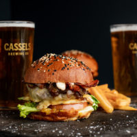 The Brewery Restaurant & Bar Burger and Cassels Beer