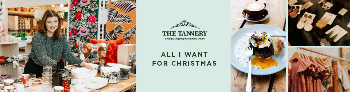 Christmas Shopping at The Tannery