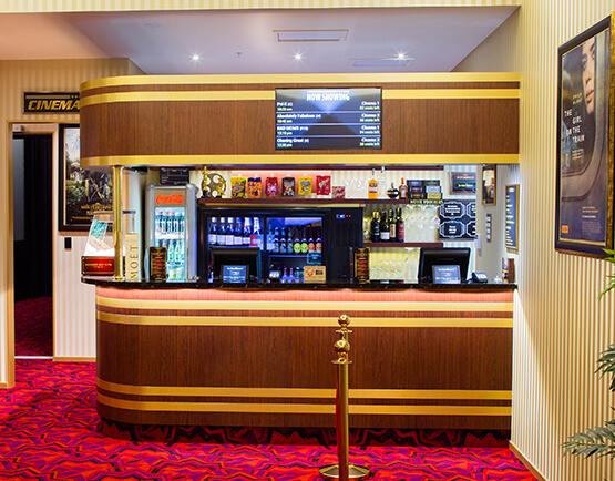 Deluxe Cinemas Food Bar