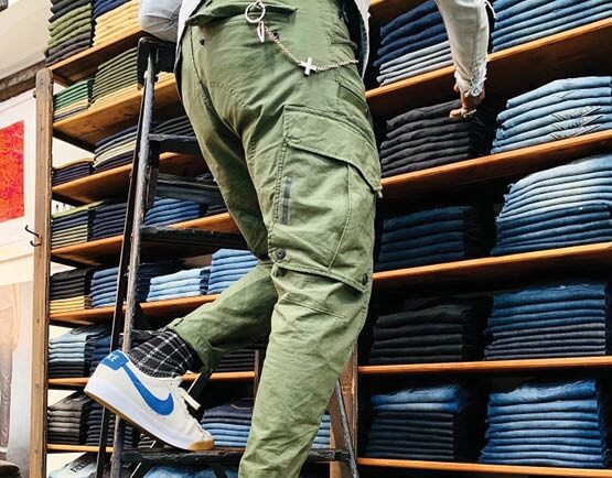 Encompass jeans wall