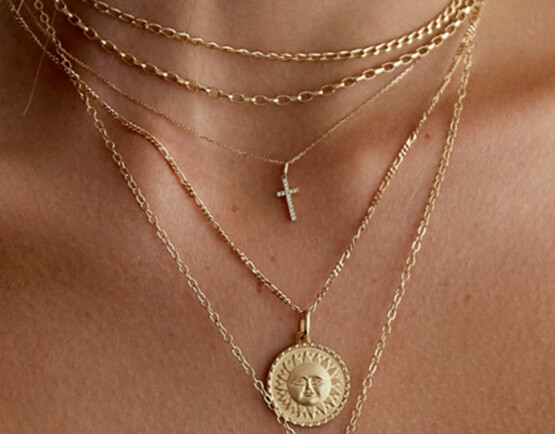 Fashion Society - SAINT MINI2 Necklace