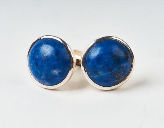 the filing kabinett jewellery - blue earrings