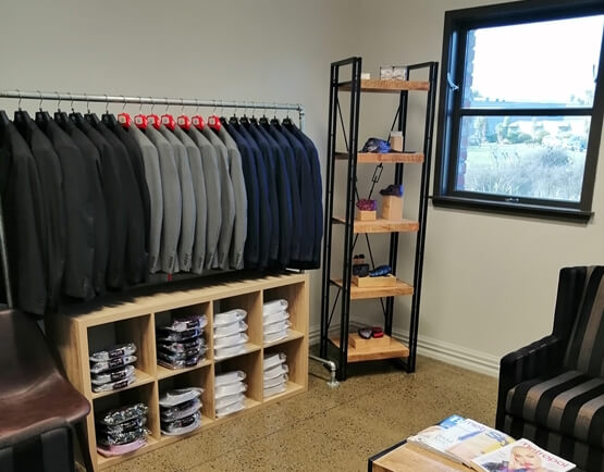 Inside Munns the Man's Store