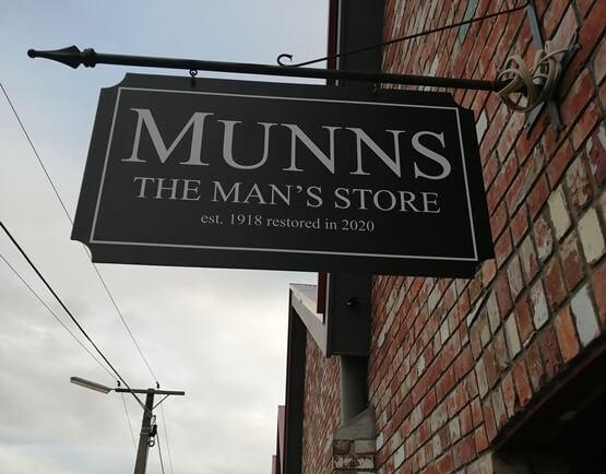 munns the man's store