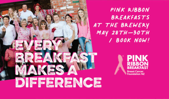 Pink Ribbon Breakfast at The Brewery