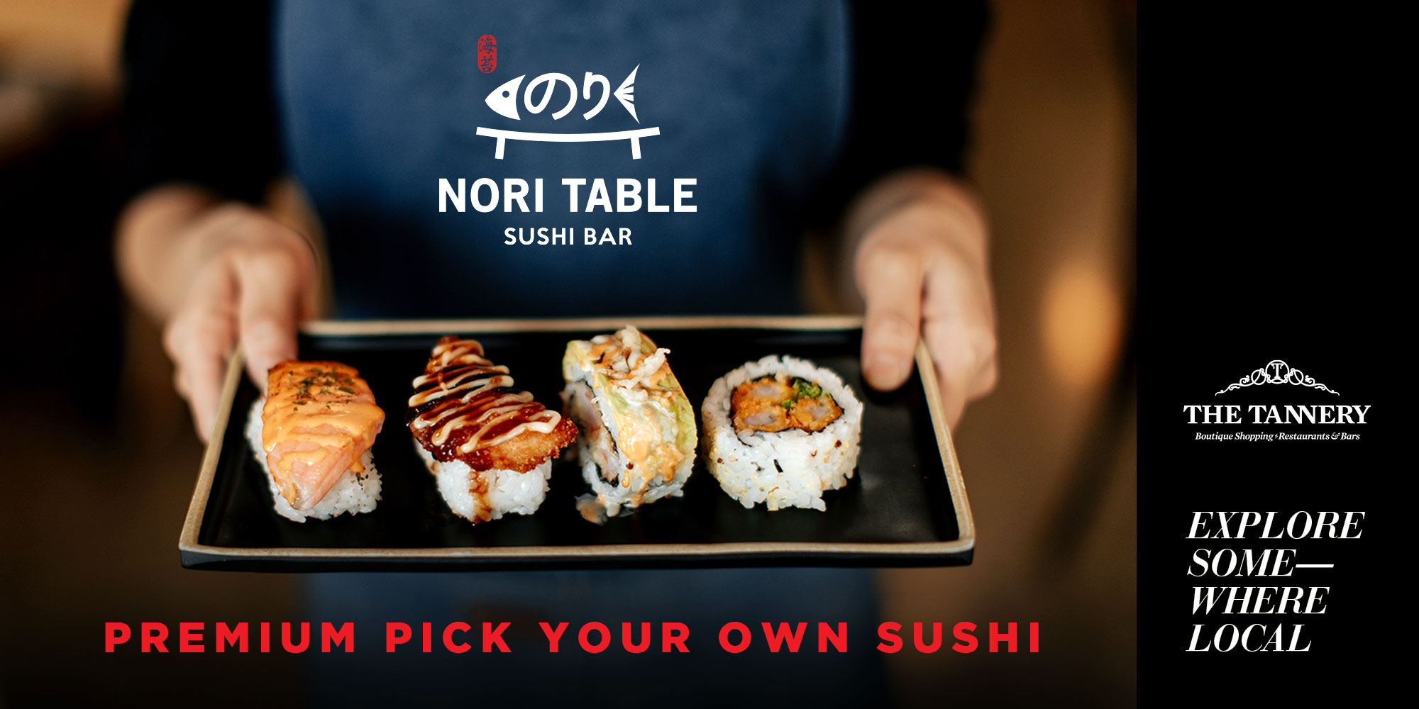 Sushi from Nori Table